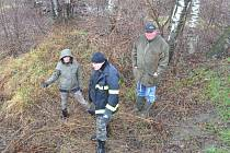 Zástupci obcí si s odborníky prohlédli tok Výrovky a určili riziková místa.