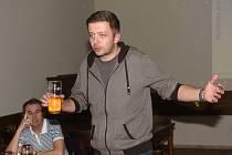 Ze setkání se starostou u piva