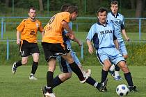Z utkání FK Kolín B - Býchory (2:9).