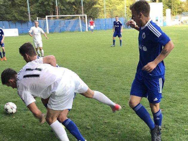Z utkání Český Brod - Česká Lípa (1:0).