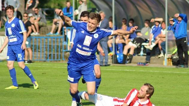 Z utkání FK Kolín - Kutná Hora (4:0).