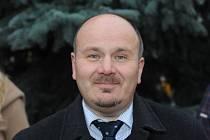 Místostarosta Tomáš Růžička.