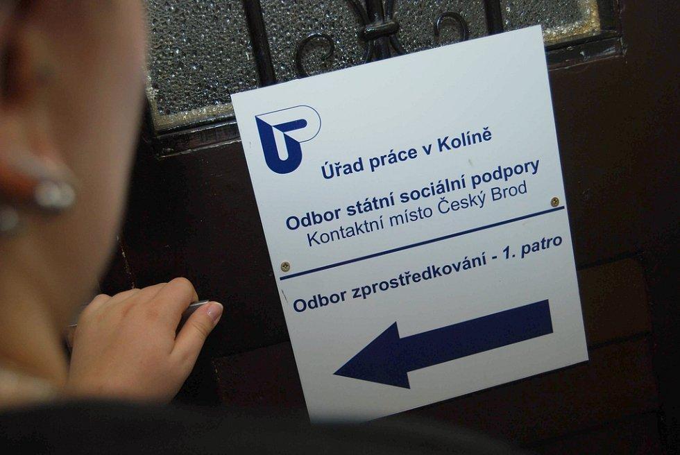 Na Českobrodsku je na Úřadu práce registrováno 551 uchazečů o zaměstnání.