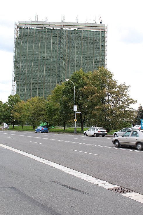 Rekonstrukce budovy Spojů v Kolíně