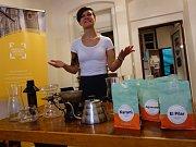 Přednáška ve Skautském institutu v Kolíně pro milovníky kávy.