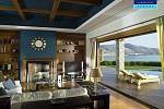 Royal Villa v hotelu Grand Resort Lagonissi, Atény, Řecko, cena 50 000 USD ( 950 tis. Kč)  za noc.