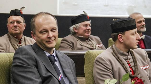 Náčelník Tělocvičné jednoty Sokol Český Brod Jaroslav Petrásek.