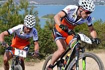 Mezi favority prvního zábodu budou patřit i Filip Eberl (vlevo) a Tomáš Parstka.