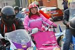 Reportáž z kolínské vyjížďky motorkářů na Štědrý den