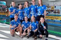 Kolínská děvčata získala na odloženém MČR bronzové medaile.