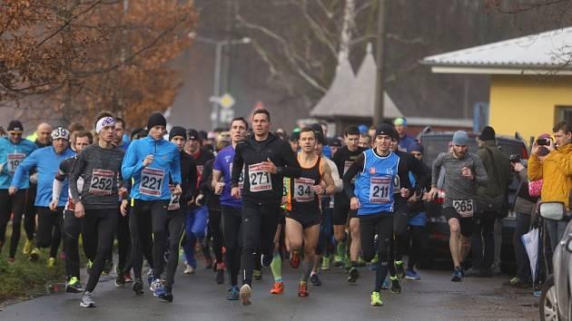 Silvestrovský běh v Kolíně 2017