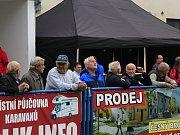 Z oslavy 120 let fotbalu v Českém Brodě.