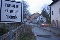Most ve Škvorci je v havarijním stavu.