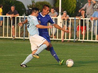 Z utkání Býchory - Tuchoraz (0:2).