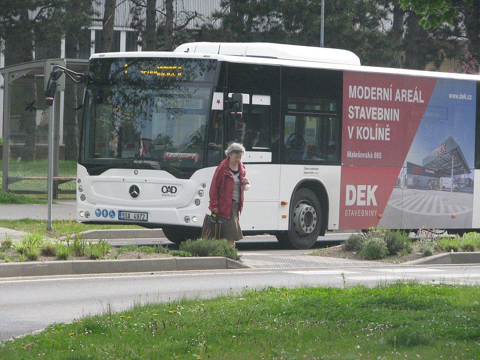 Městská hromadná doprava v Kolíně.