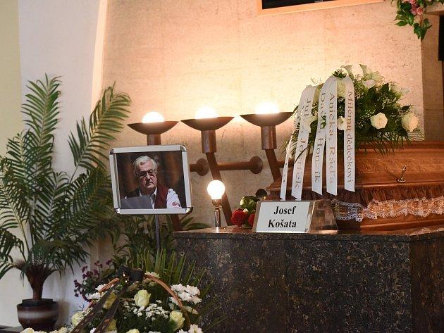 Pohřeb kapelníka Suchdolanky Josefa Košaty