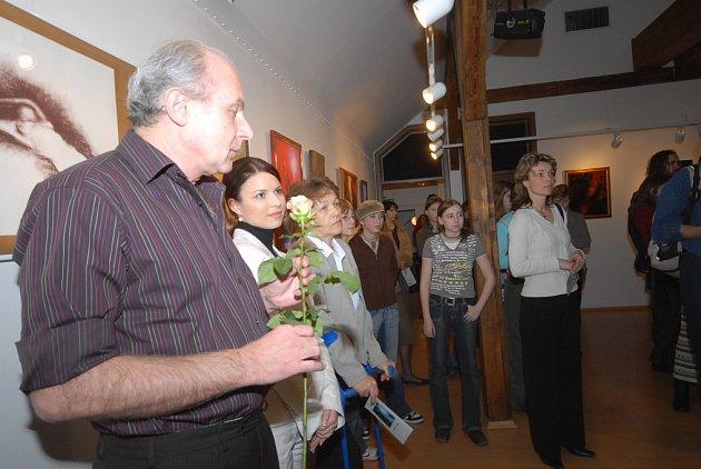 Milan Kozák vystavuje v kolínské Galerii