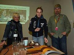 Příznivci závodů Rallye Dakar se sešli na zajímavé besedě v Městském společenském domě v Kolíně.