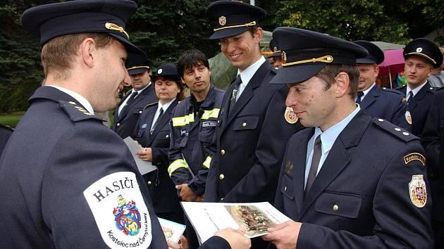 Kostelečtí hasiči oslavili 135 let