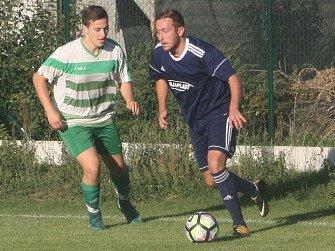 Z utkání Tři Dvory - Nučice (6:1).