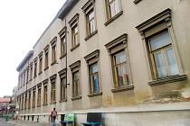 Budova bývalé vojenské správy na Náměstí republiky v Kolíně.