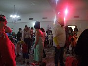 Dětský karneval přilákal řadu návštěvníků.
