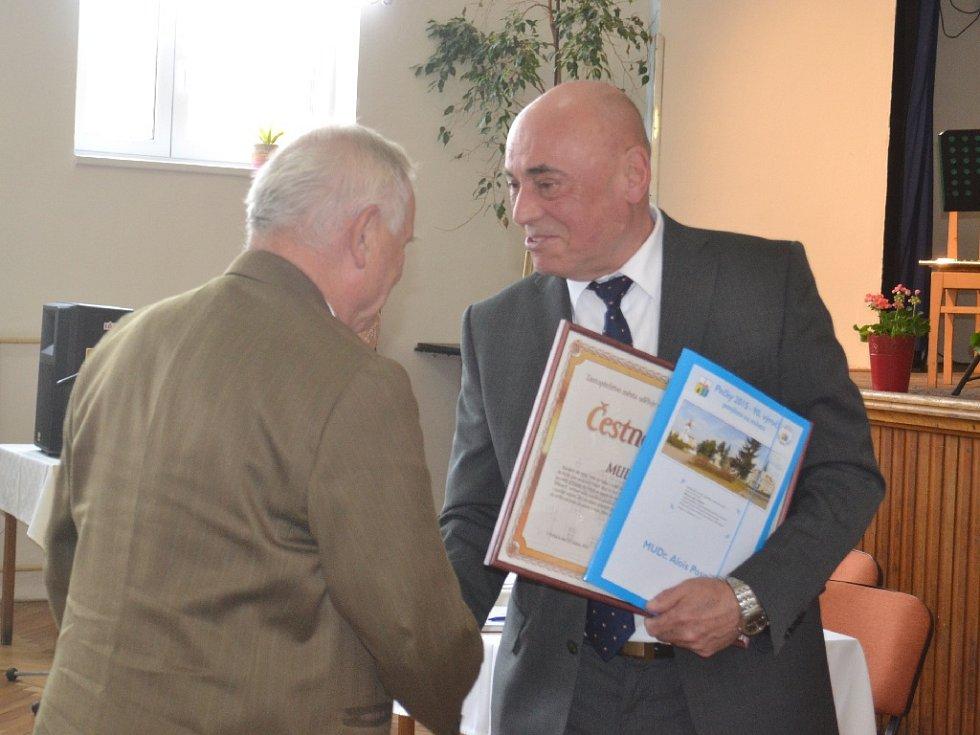 Slavnostní udílení Čestných občanství a Cen města Pečky