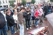 Uctění památky zemřelých hokejistů