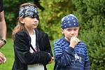 Pirátská stezka nabídla dětem spoustu zábavy