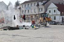Rekonstrukce centra Úval