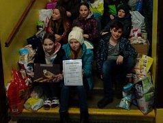Žáci Základní školy Pečky opět pomohli záchranné stanici