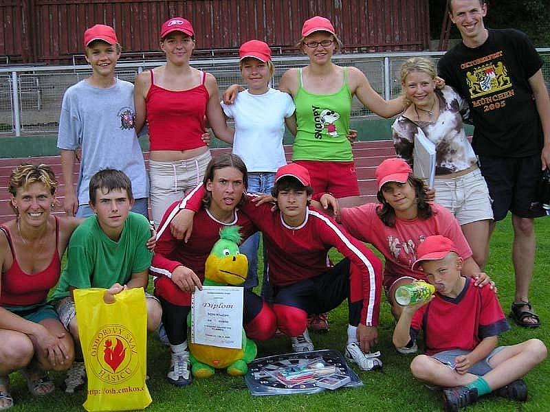 Krajské kolo v Čáslavi 2006 žáci