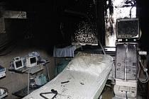 Požár na dialytickém oddělení