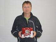 Třinácté kolo Tip ligy vyhrál Ladislav Sýkora z Kolína, který získal karton piv značky Gambrinus.