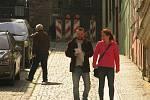 Brandlova ulice v Kolíně je uzavřená, okolní uličky jsou tudíž slepé.