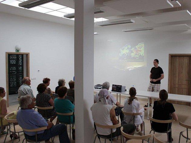 Petr Horálek v Environmentálním centru v Cerhenicích