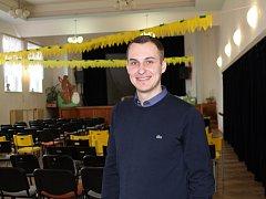 Ředitel Kulturního střediska Pečky Lukáš Hanzelín
