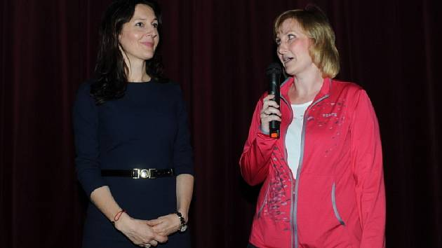 Eva Tomanová se vrátila do Kolína s dokumentem Stále spolu