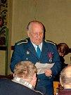 Zasloužilý hasič Josef Dobrovolný