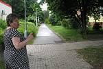 V sídlištní lokalitě v okolí ulice Rimavské Soboty v Kolíně.