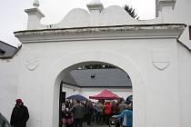 Na zámek v Radimi přijel v sobotu sv. Martin