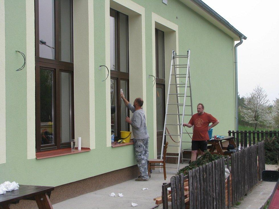 Nově opravený kulturní dům