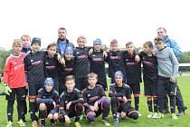 Z utkání FK Kolín U12 - Čáslav (2:4).