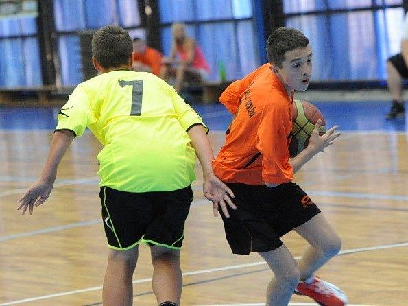 Kolínské sportovní dny 2015 - basketbal.