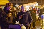 Vánoční trh na Karlově náměstí v Kolíně