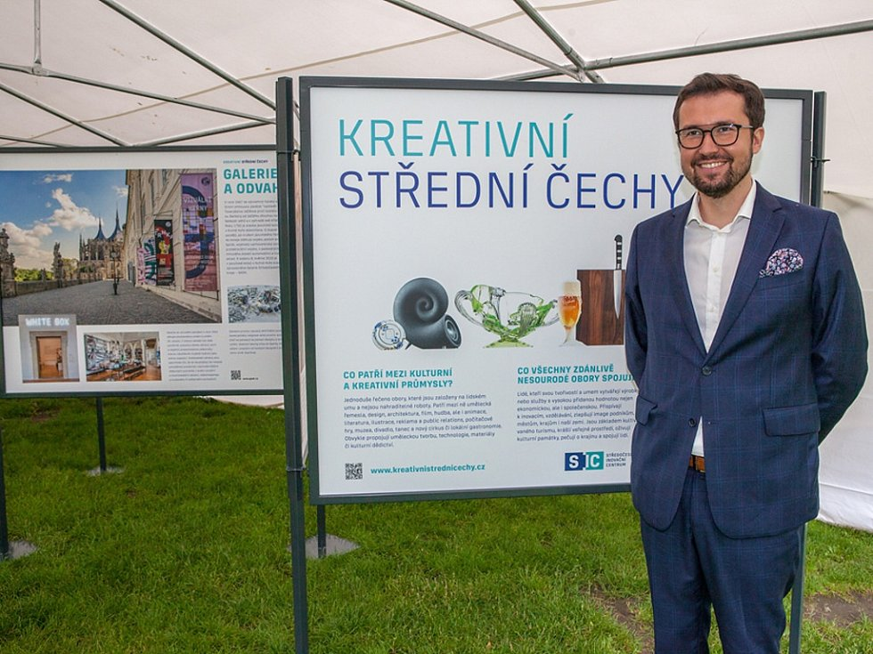 Ze zahájení výstavy Má vlast cestami proměn na pražském Vyšehradě.
