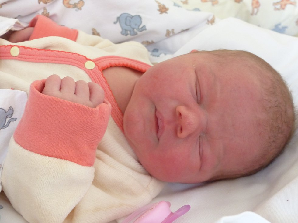 Dominika Zemanová se narodila 13. listopadu 2019 v kolínské porodnici, vážila 3520 g a měřila 50 cm. Do Olešky odjela se sestřičkou Karolínkou (3) a rodiči Denisou a Jiřím.