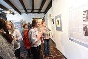 Výstava byla uvedena v Červinkovském domě.