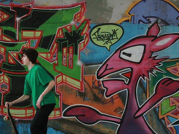 Malůvky v kolínských ulicích