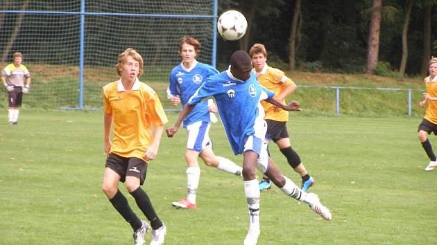Z utkání mladšího dorostu FK Kolín - Liberec B (2:1).